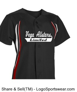 Womens Changeup Full Button Softball Jersey Design Zoom