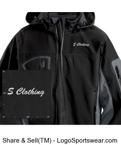 Waterproof Soft Shell Jacket Design Zoom