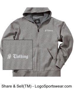Tradesman Thermal Company Sweatshirt Design Zoom