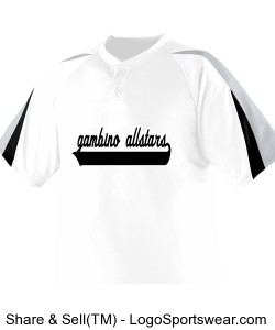 Adult Power Plus Baseball Jersey Design Zoom